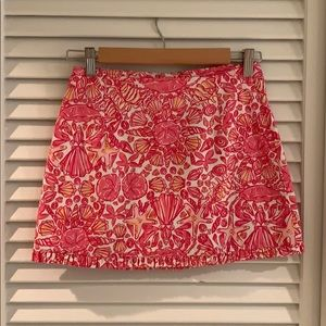 LILLY PULITZER SKIRT SIZE 00